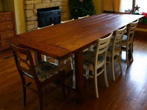 Large Dining Room Tables by Oversized Dining Room Table Myideasbedroom