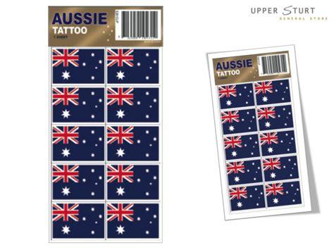 Tattoo Kit Afterpay | australian flag tattoos 24 pack upper sturt general
