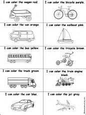 drawing and coloring worksheets transportation vehicles