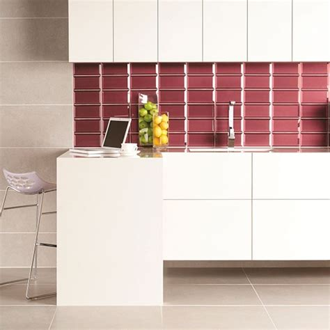 kitchen splashback tiles ideas bevel tile splashback in ulysses from original style
