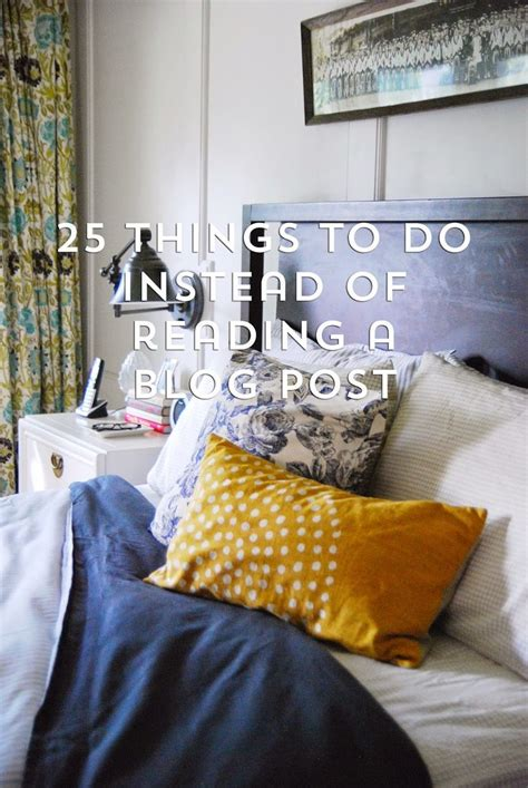 Rambling renovators 25 things to do instead of reading today s blog