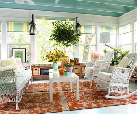 How To Make Conservatory Blinds 35 Beautiful Sunroom Design Ideas