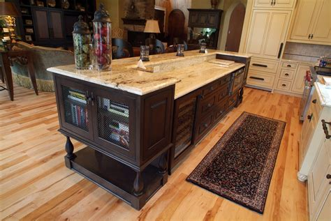 raised kitchen island country kitchen michellegrilloportfolio