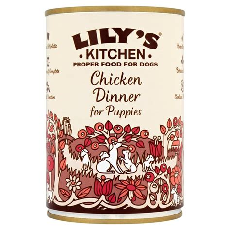 Lillys Kitchen Food by S Kitchen Perfectly Puppy Food With Chicken 400g