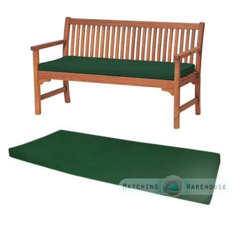 seat cushions for benches outdoor waterproof 3 seater bench swing seat cushion