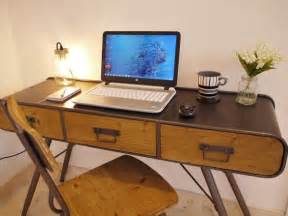 Retro Cl Desk L Retro Industrial Desk Table Retro Office Desk Writing