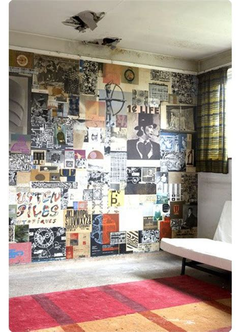 cool schlafzimmer farbschemata collage walls are a cool way to jazz up a room we could
