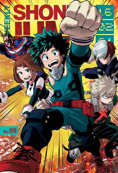 Komik My Boku No Academia Vol 3 boku no academia my academia 95 anime