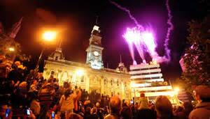 new year fireworks dunedin new year begins with fireworks and lack of violence