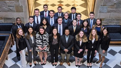 Bc Mba Admitted Students by Jenks Leadership Program Winston Center For Leadership