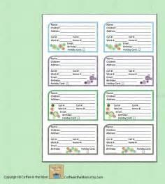 printable phone book template free printable address book templates