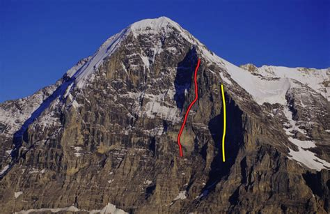 Eiger Traverse 1 1 Olive digiulian and traversi climb eiger free route climbing