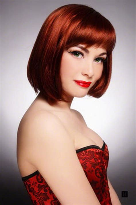hairstyles for mid length red hair red medium length hairstyles