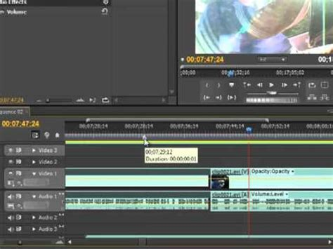 tutorial edit video dengan adobe premiere cs5 rolling edit tool adobe premiere pro cs5 tutorial youtube