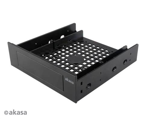 5 25 drive bay fan mount akasa 3 5 quot hdd a 2 5 quot ssd hdd do 5 25 quot pc drive bay asbis sk