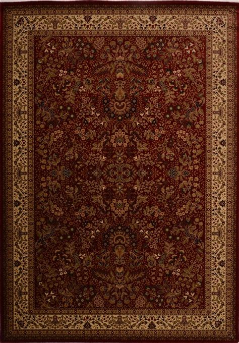 3d Area Rugs Turkish Saroogh Rectangle 8x11 Ft Synthetic Carpet 18106