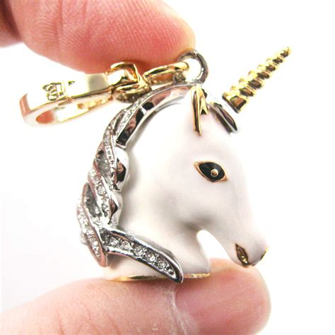 limited edition white animal pendant necklace