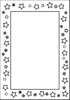 printable star frames printable page borders for the love of teaching