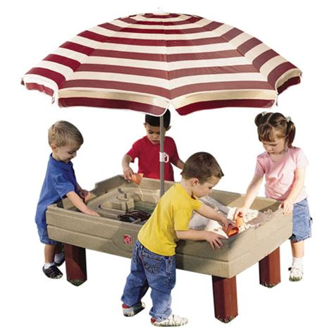step 2 sandbox with bench and umbrella step 2 sandbox with bench and umbrella 28 images amazon com step2 naturally