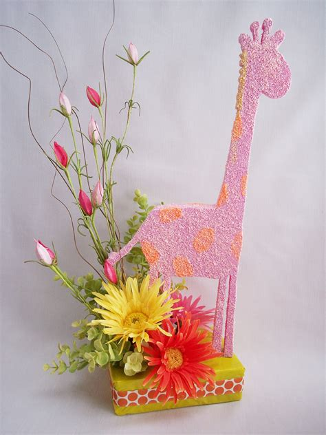 New Ideas To Have Unusual Baby Shower Centerpieces Jungle Flowers For Baby Shower Centerpieces