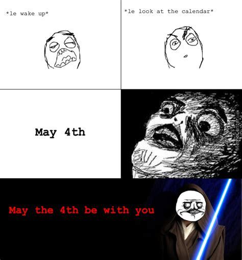 May The 4th Meme - may the 4th be with you all by recyclebin meme center