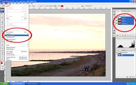 align and distribute layers in photoshop robnunnphoto com posts home improve hdr s by merging