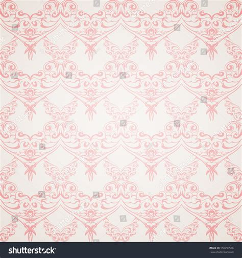 pink victorian pattern seamless pink pattern wallpaper in victorian style vector