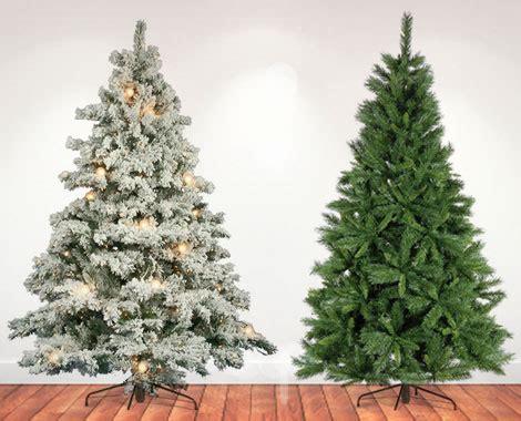 artificial christmas tree grabone