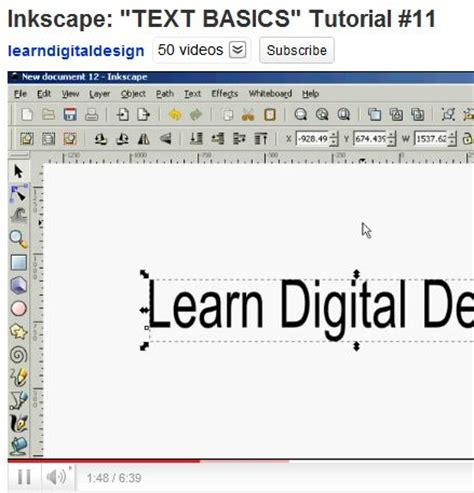 design font inkscape 17 best images about art inkscape tutorials portraits on