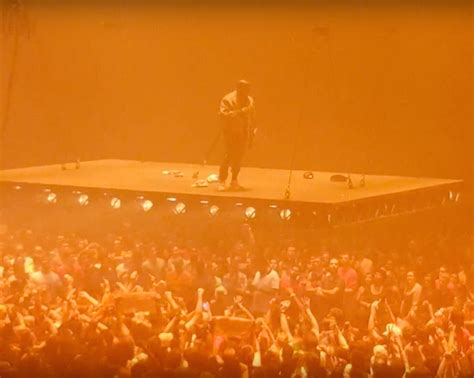 Kanye West Td Garden by Kanye West Kicks Pablo Tour With Elevated Stage