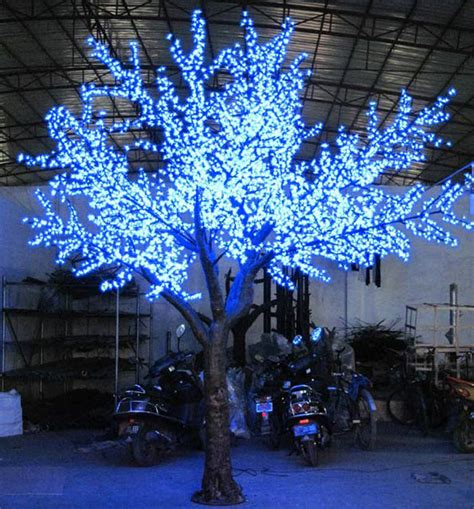 artificial outdoor trees with lights led outdoor tree