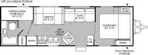 wilderness travel trailer floor plan 2005 fleetwood wilderness yukon travel trailer rvweb com