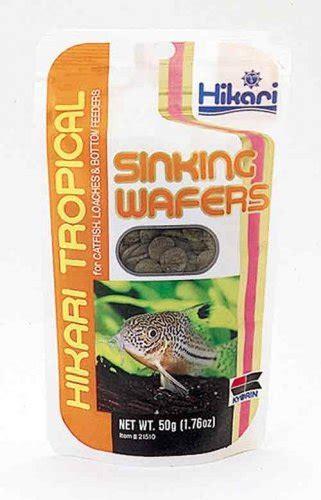 Wafer 350 Gram hikari sinking wafers 50 gr welkom bij aquarium planten