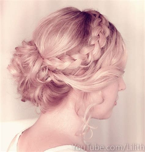 Wedding Hair Updo With Braids by Pretty Wedding Hairstyles For Your Big Day