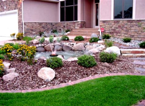 Simple Green Landscaping Designs For Modern Home Backyard Home Backyard Landscaping Ideas