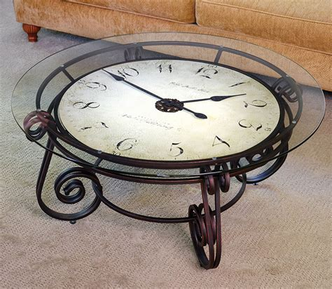 Clock Table by Big Analog Clock Table