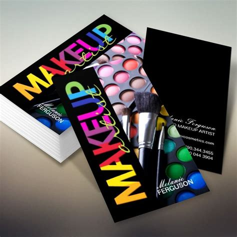 Makeup Artist Composite Card Template by 1000 Images About Makeup Artist Business Cards On