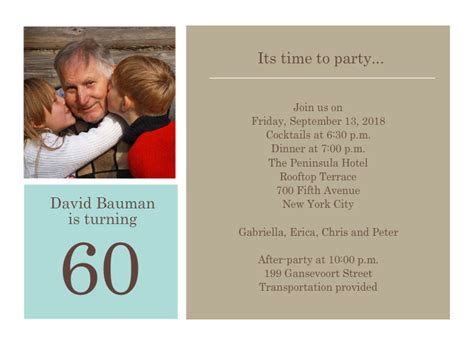 60th birthday invitation templates 60th birthday invitation templates to