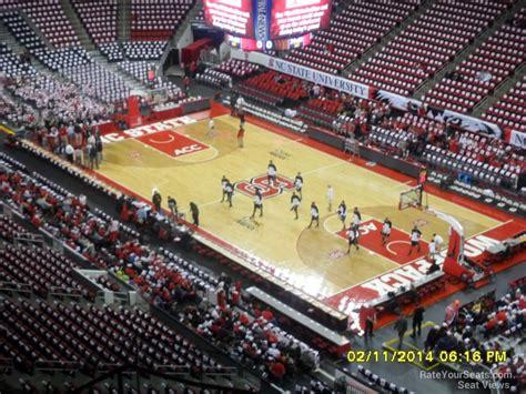 Pnc Arena Section 336 Nc State Basketball