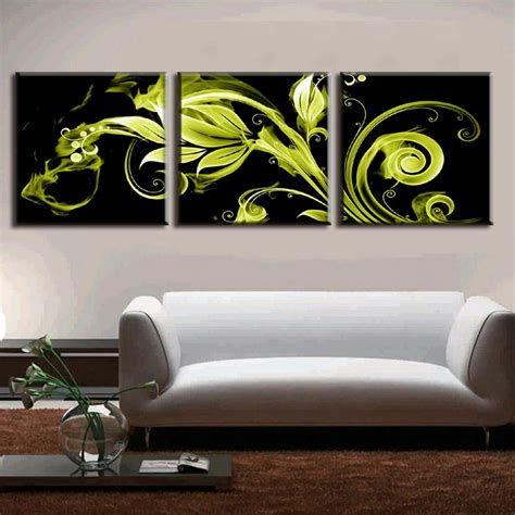Abstrak Printing Top aliexpress buy 3 pieces framed painting on