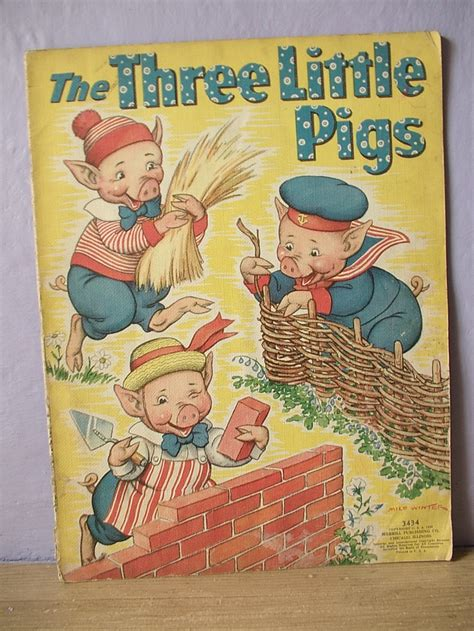 tales of vintage hollow books 1 5 books antique childrens tale book the three pigs