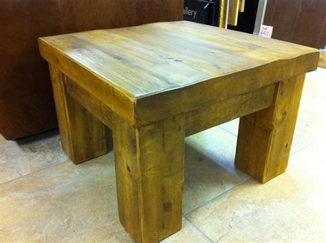 Sleeper Table by Pine Coffee Table From New Railway Sleepers