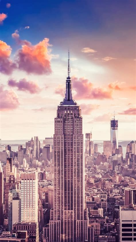 640x1136 empire state building iphone 5 wallpaper
