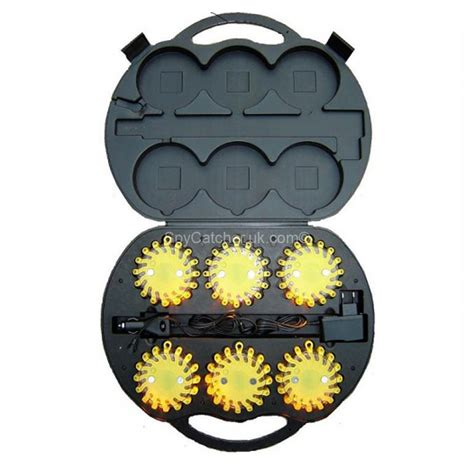 led lights hazard led hazard warning lights pack of 6 spycatcher