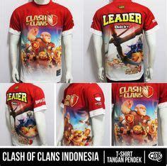 Kaos Coc 5 Gratis 1gamedtgsession3 clash of clans jersey 2 bahan fit polyester printing sublimasi gratis penambahan