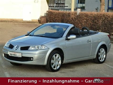 2007 Renault Megane 1 6 Cabriolet Leather Panoramic
