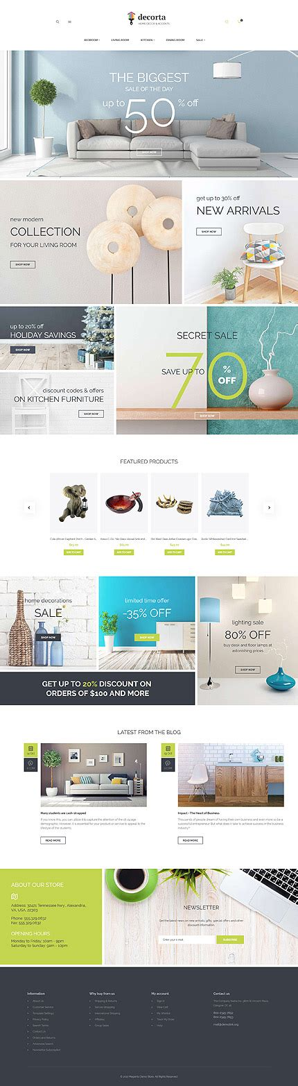 magento layout xml set template interior furniture type magento themes template