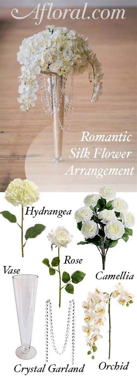 Silk Flower Wedding Centerpiece by Awesome Diy Wedding Centerpiece Ideas Tutorials