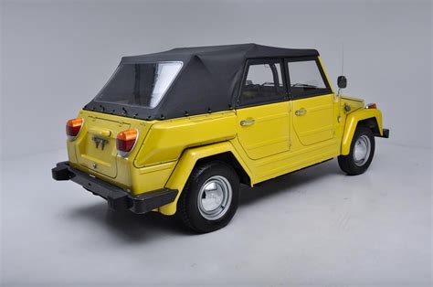 volkswagen thing yellow 1974 volkswagen thing stock 197401 for sale near new