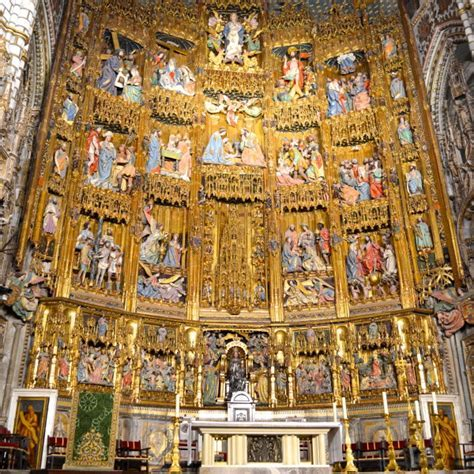 """HOLY TOLEDO""   A VISIT TO THE CATHEDRAL OF TOLEDO, SPAIN"